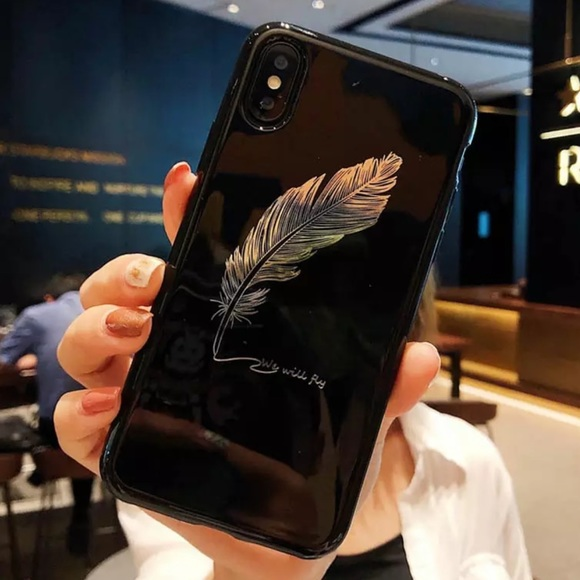 BUNZAR Accessories - LUXURIOUS NEW IPHONE XR / XS MAX CASE BLACK